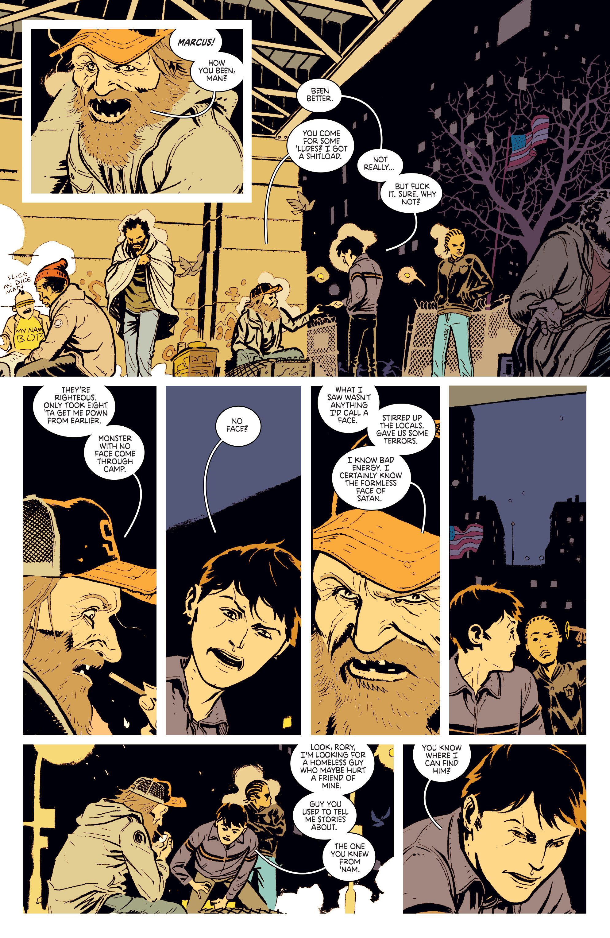 Read online Deadly Class comic -  Issue #3 - 12