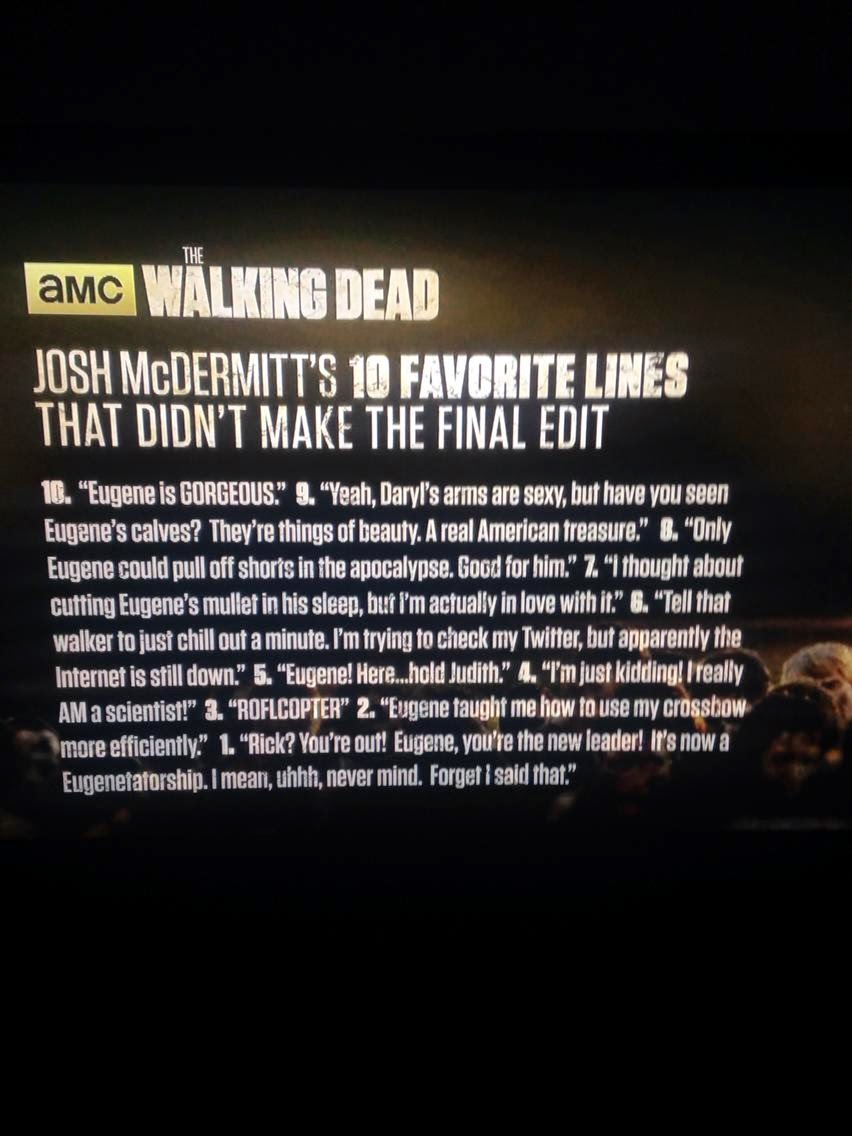 Josh McDermitt's 10 Favorite Lines That Didn't Make The Final Edit