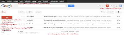 foto email masuk gmail