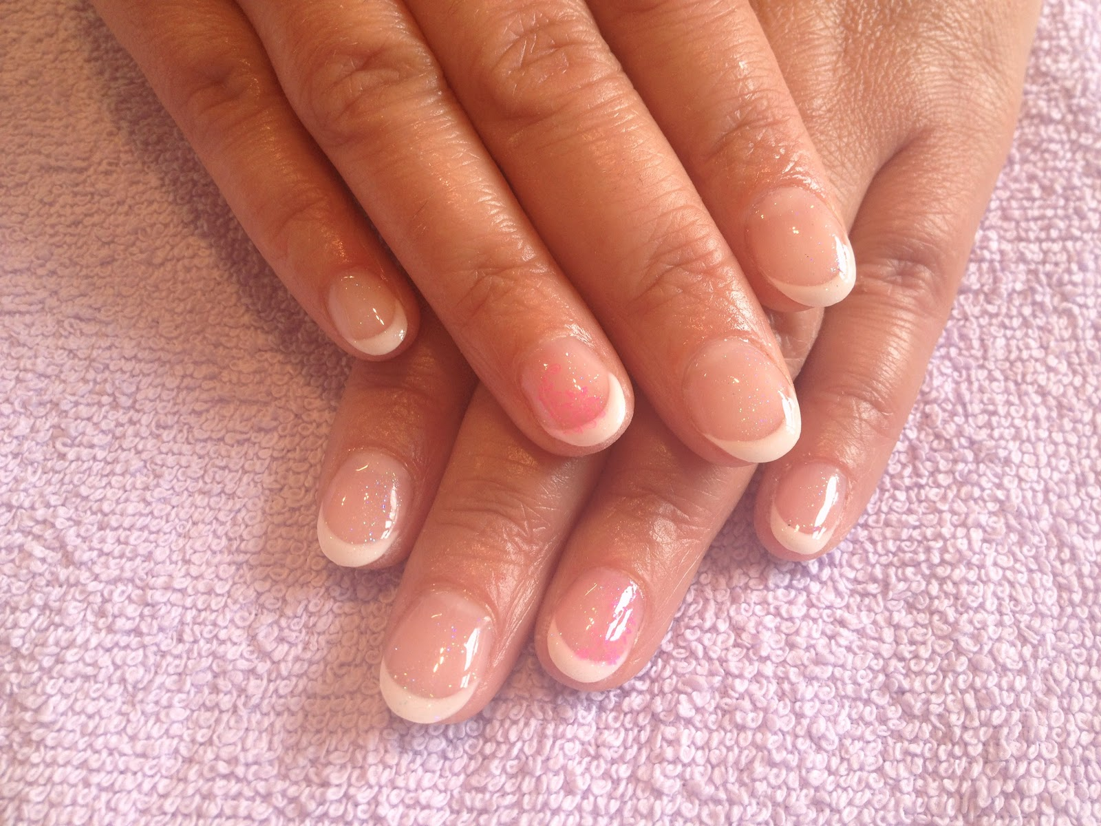 GLAMOUR NAILS: GEL OVERLAY ON NATURAL NAILS