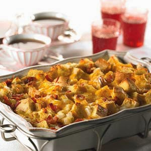 Bacon Egg & Cheese Brunch Casserole