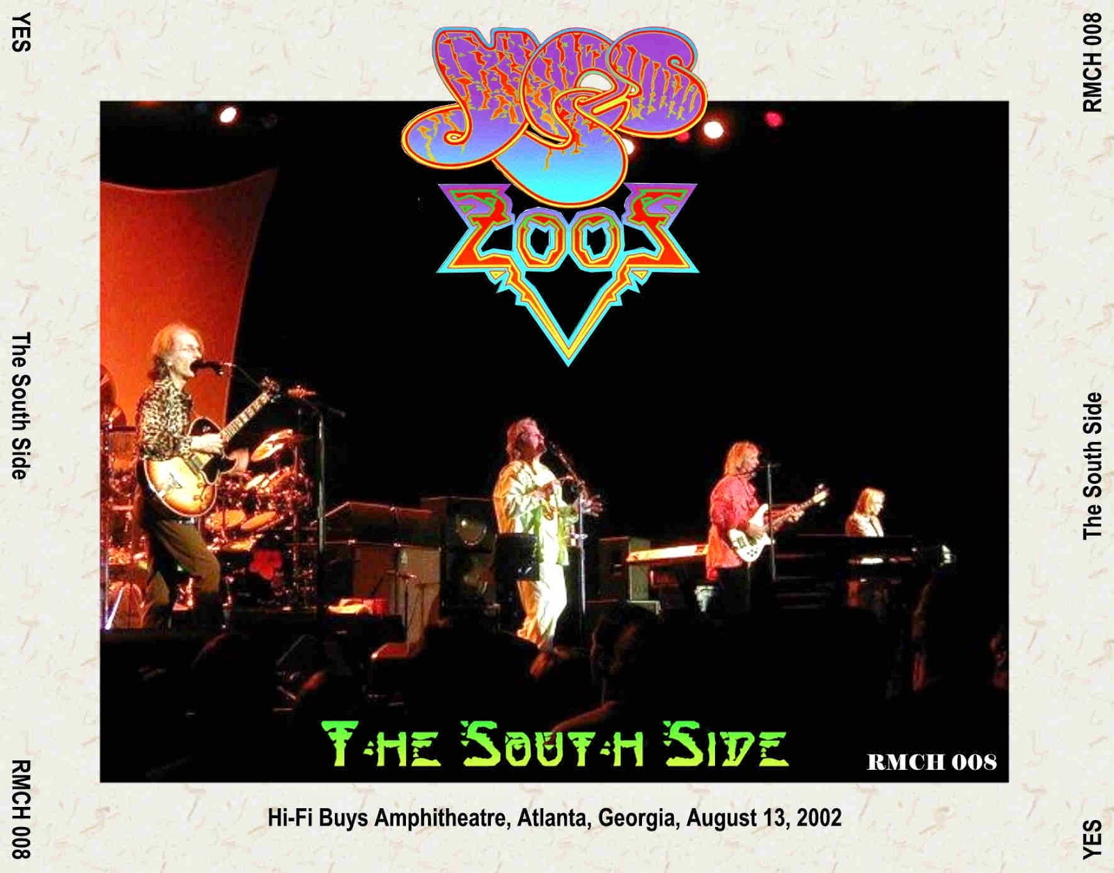 Yes: The South Side. HiFi Buys Amphitheatre, Atlanta, Georgia, USA ...