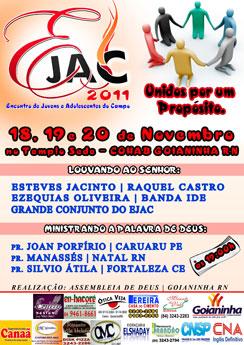 EJAC - Encontro de Jovens e Adolescente do Campo (AD Goianinha - RN)