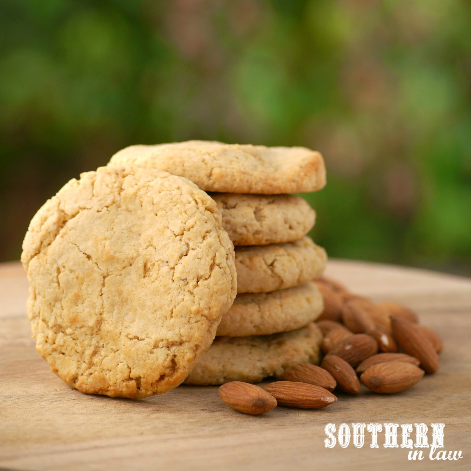 Gluten Free Almond Meal Cookies