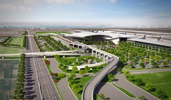 Sơ đồ thiết kế sân bay Long Thành