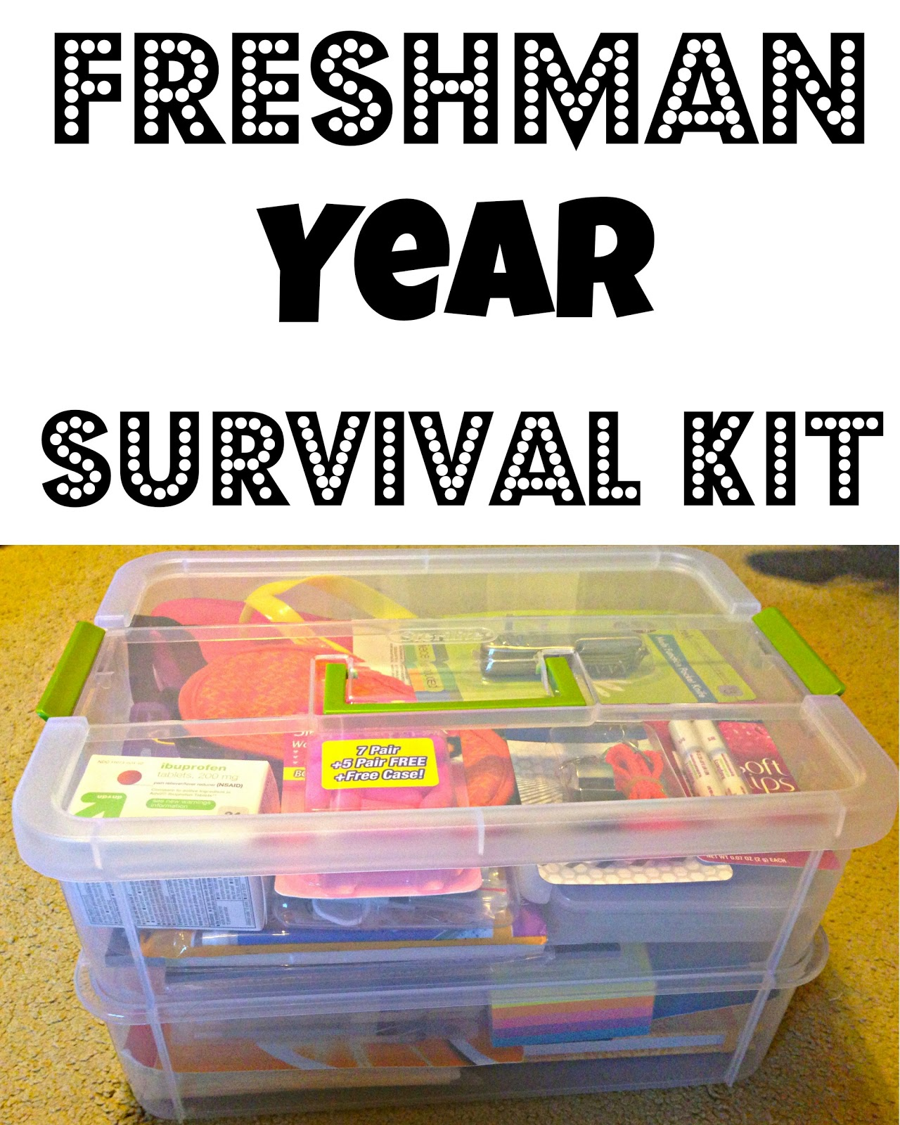 Pics photos funny college survival kit ideas - Freshman Year Survival Kit
