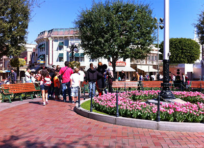 Disneyland Mickey Mouse Town Square meet character