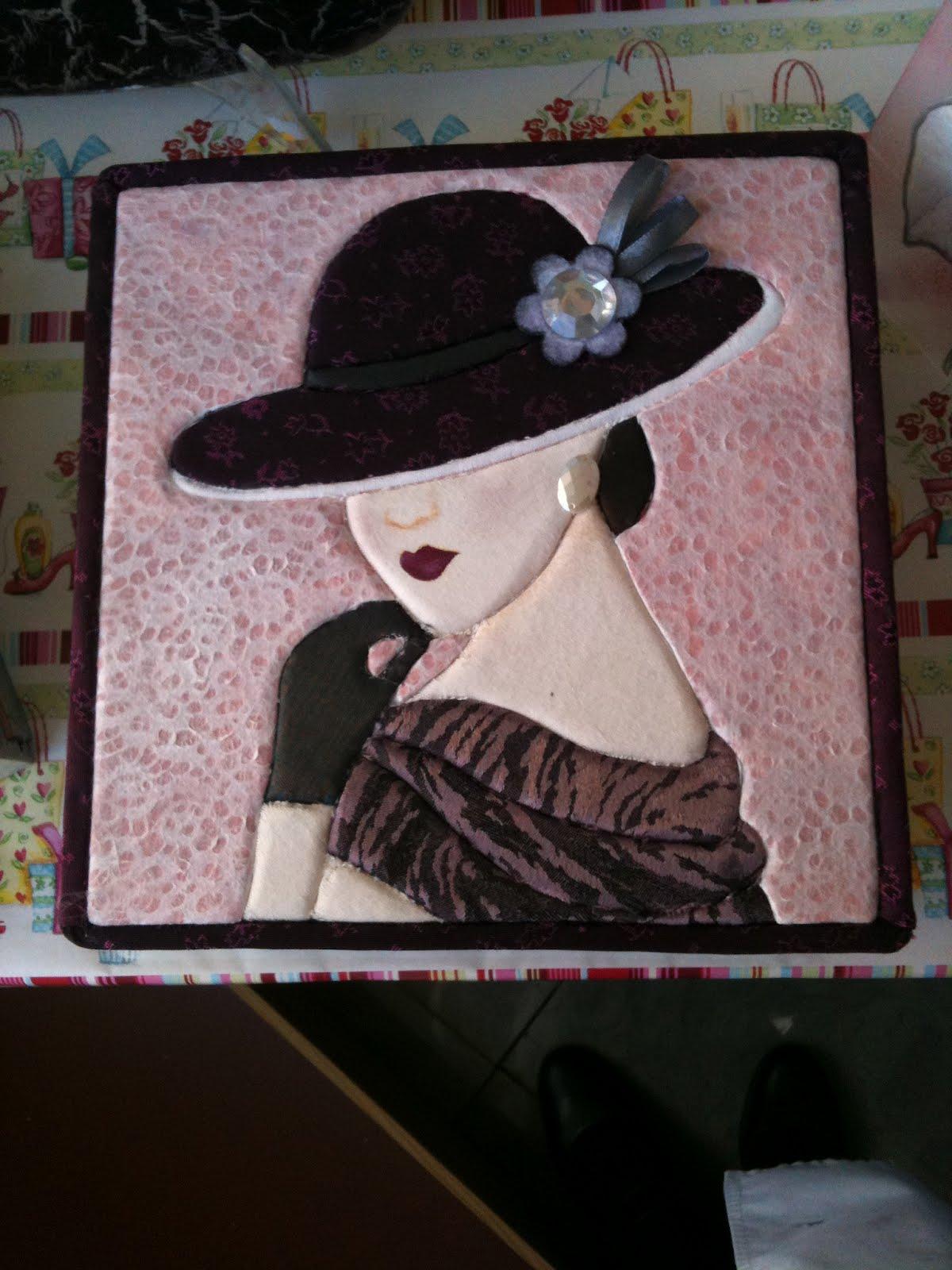 La teja de ani servilletero con patchwork sin aguja for Fotos de patchwork