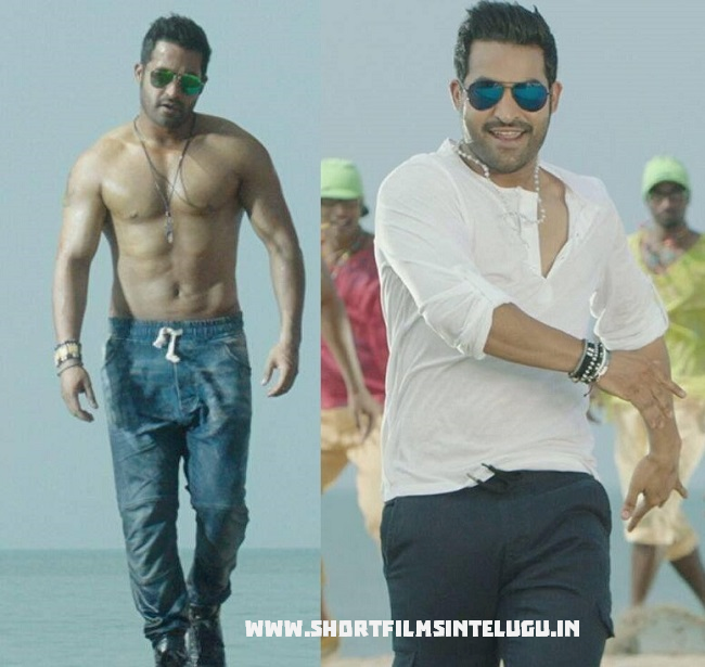 ntr temper six pack new look stills