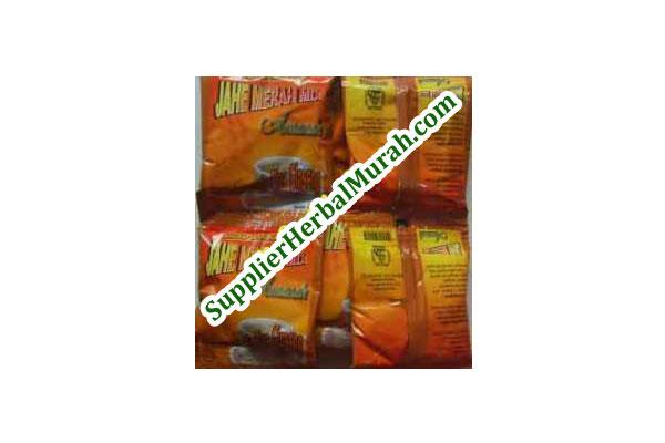 Grosir Jahe Merah Mix Amanah (+ Creamer) 20 Renteng