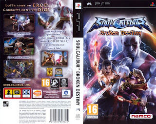 Download Game Soul Calibur PSP  Full Version Iso For PC