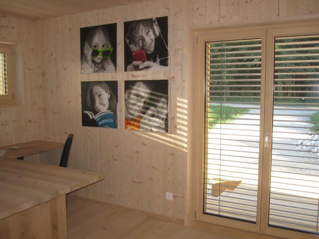 Holzhaus wir bauen ein haus aus holz einrichten for Haus selber einrichten