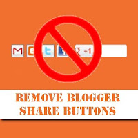 remove blogger share buttons