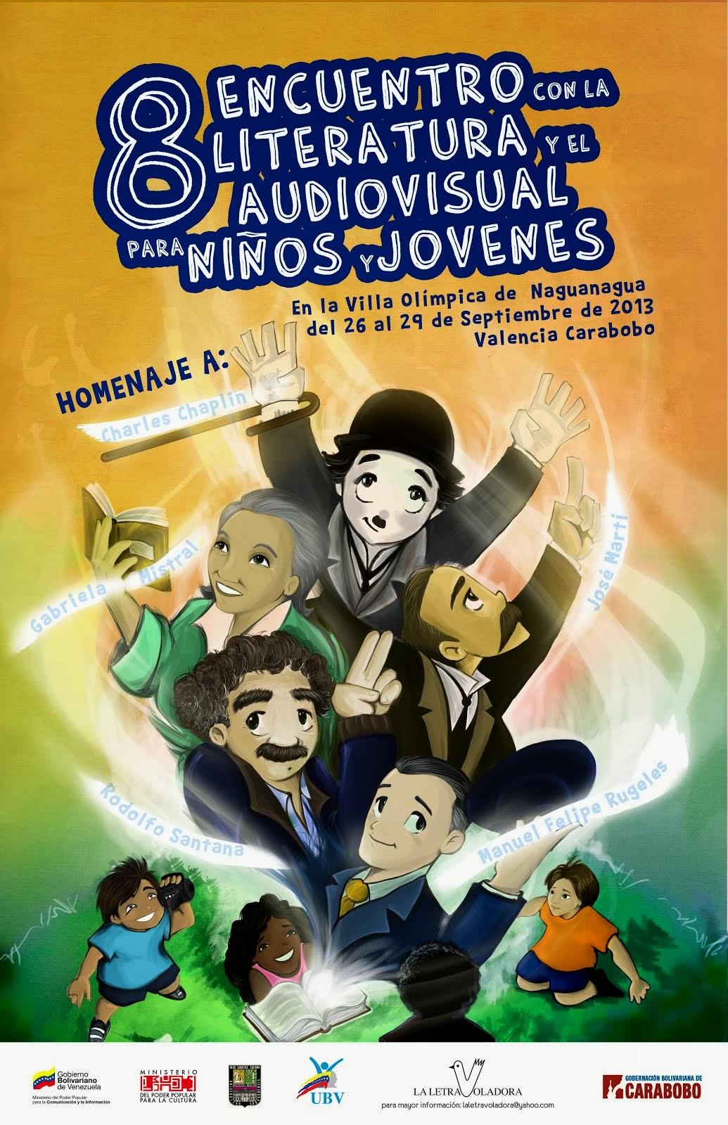 8tavo Encuentro con la Literatura y el Audiovisual para niños y jóvenes.
