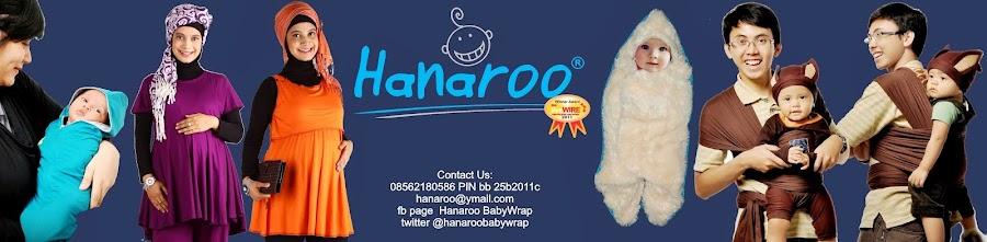 Hanaroo Baby Wrap, Gendongan Anti Pegal, Murah Berkualitas, Nyaman Digunakan.