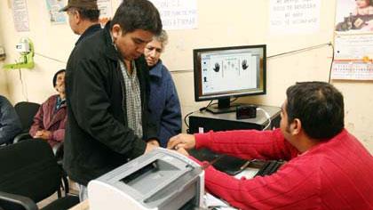 Empadronamiento biométrico 2014