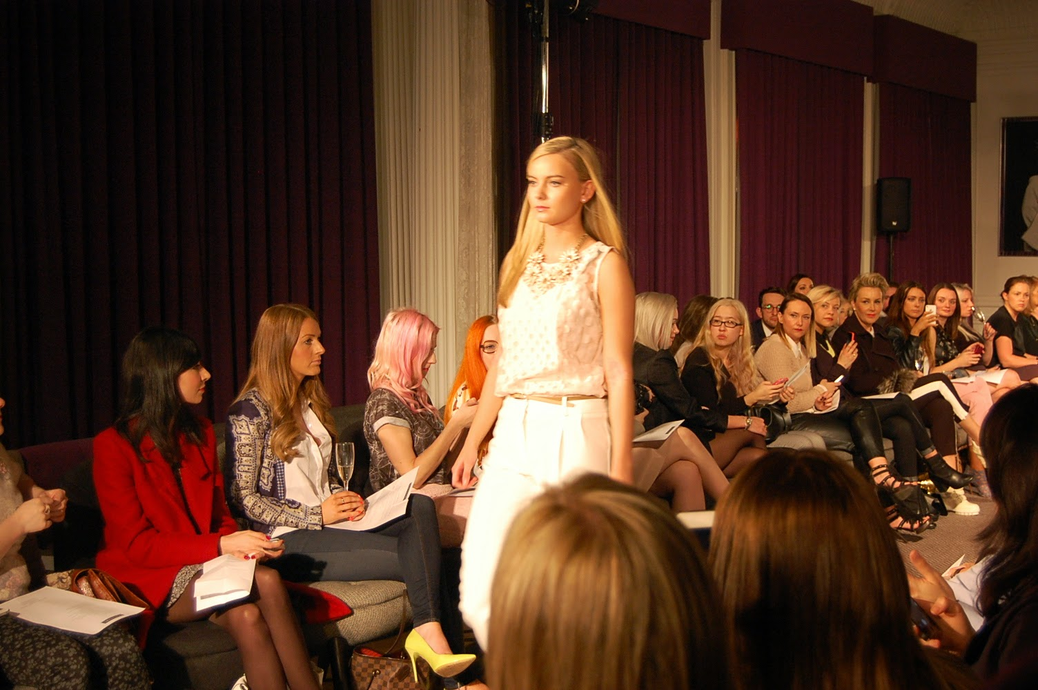 Debenhams SS14 Press Show, Glasgow