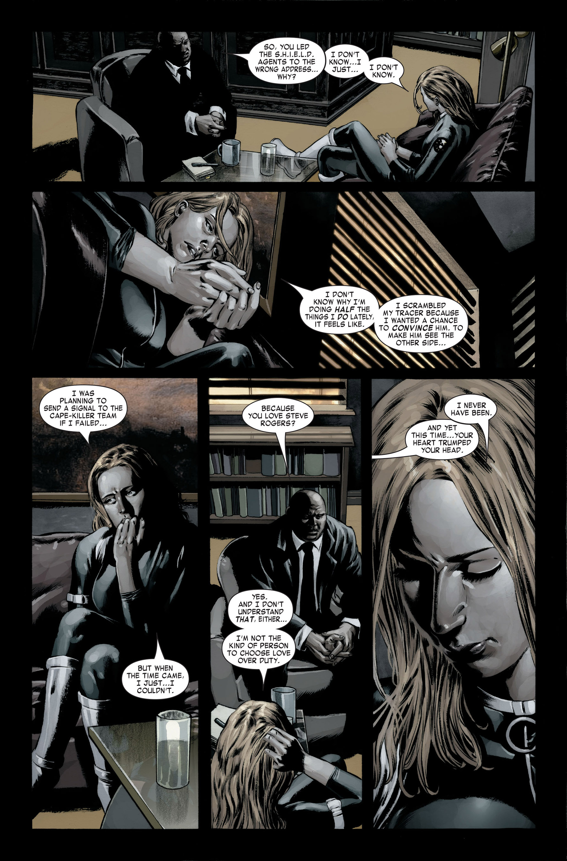 Captain America (2005) Issue #22 #22 - English 20