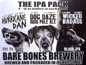 Bare Bones Brewery Mix 6-Pack