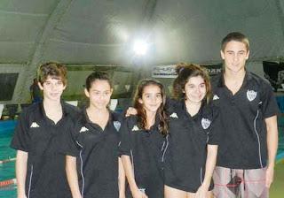 Seis nadadores albinegros en el Nacional de menores