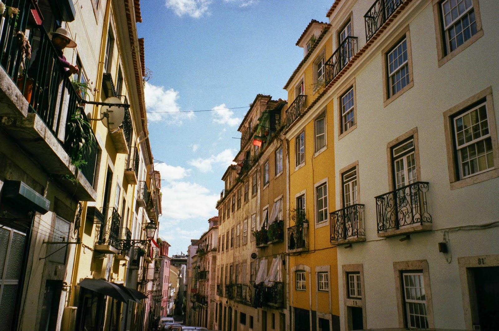 Streets Lisbon Lisboa Portugal