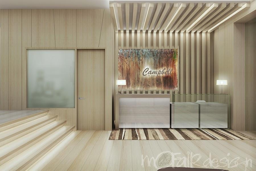 Foyer Reception Area : Mofairdesign studio