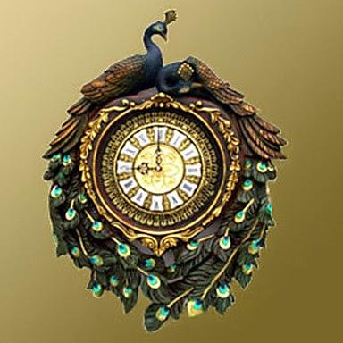 Reloj Pavo Real
