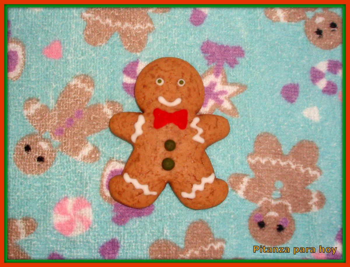 Pitanza para hoy: Galletas del Muñeco de Jengibre (Gingerbread Man)