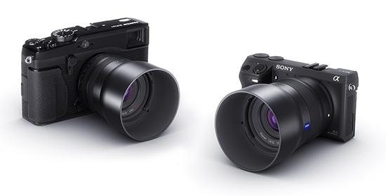 Lentes Zeiss Touit para Sony NEX y Fujifilm X, Lentes Zeiss Touit, Sony NEX, Fujifilm X