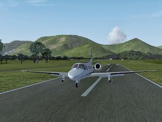 simulasi pesawat