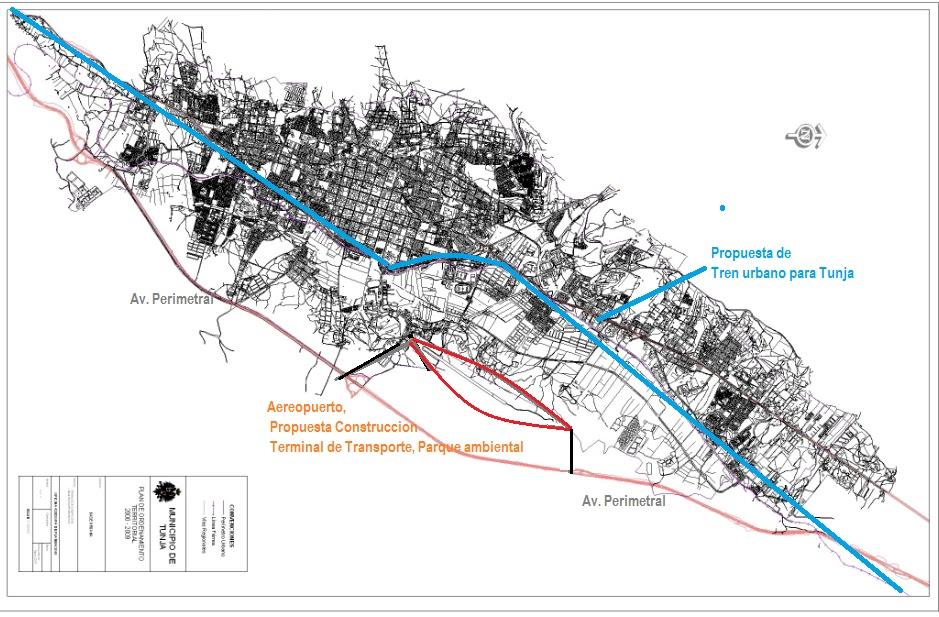 El Debate Boyacense Mayo - Tunja map