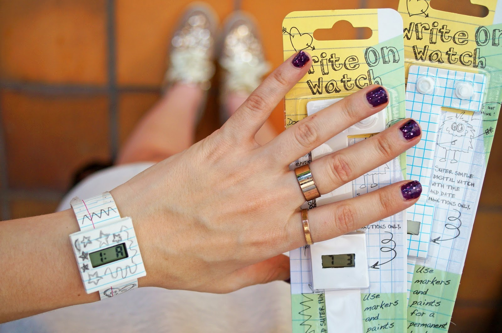 Cool watches you can write on! Perfect Back to School gift
