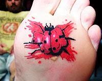 Melhores tatuagens de joaninha