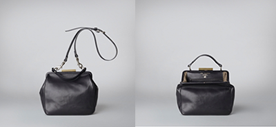 Ally Capellino Kelly handbag black, red, grey
