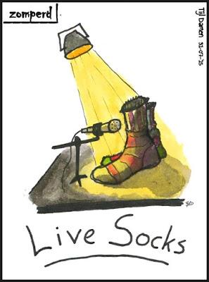 Zomperd - Live Socks