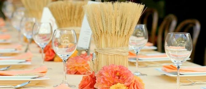 Enfeite De Trigo ~ Elegance Decoraç u00e3o de Eventos Decoraç u00e3o com trigo!!!
