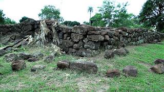 Ruínas da redução de San Carlos de Caápi, na Argentina.