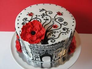Patisserie Paris: Gorgeous Cake via Party Cat Pastries