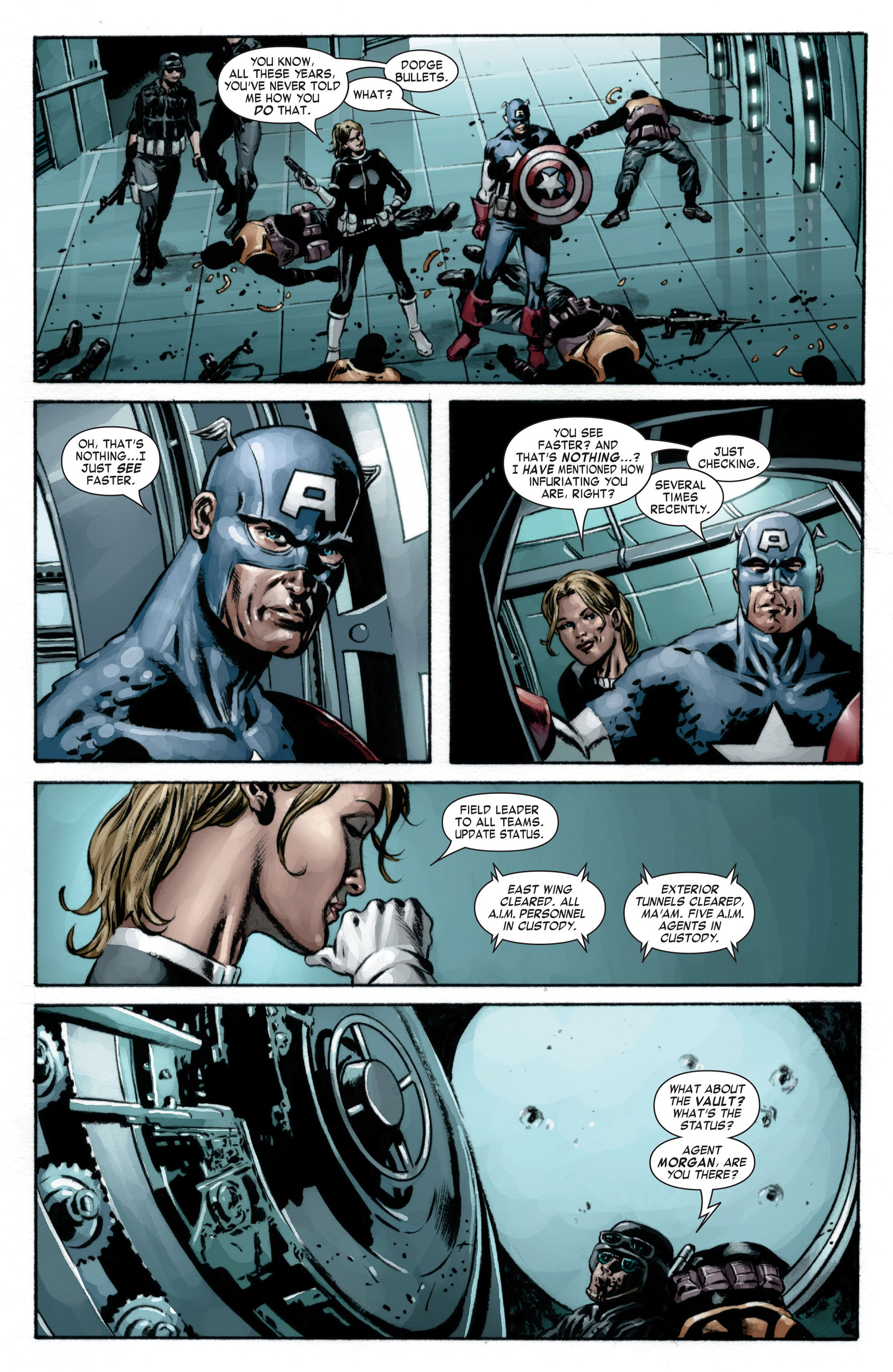 Captain America (2005) Issue #17 #17 - English 16