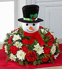 Jolly Jubile Snowman Centerpiece