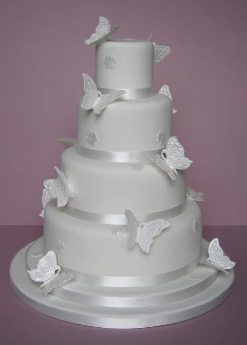 Cake Images Butterfly : Wedding Cakes Pictures: Butterfly Wedding Cake Decorations ...