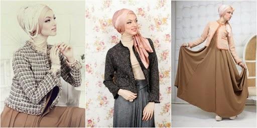 Koleksi baju kerja muslimah trendy