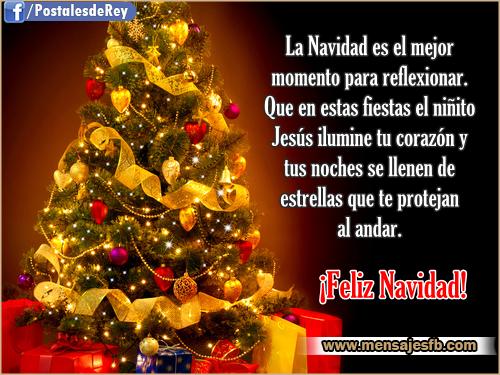 Dedicatorias bonitas para navidad mensajes para amor - Postales de navidad bonitas ...