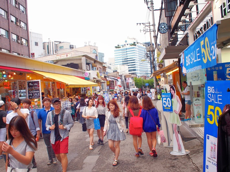 Ewha University Summer Studies Travel Seoul hongdae lunarrive blog singapore