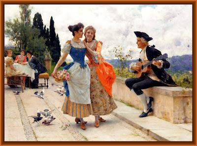 escena vintage de Federico Andreotti