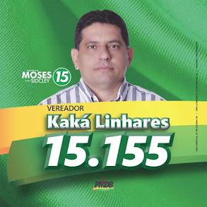 Vereador Kaká Linhares sempre atendendo o povo