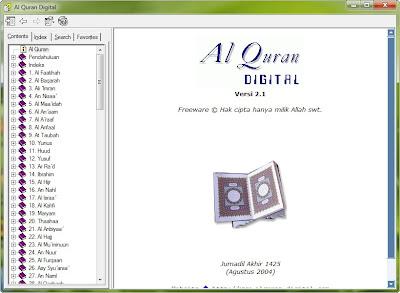 freeware chm - alquran digital terjemah indonesia