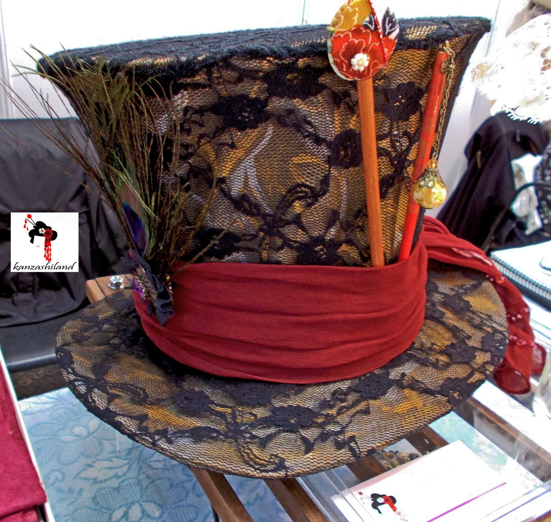 Adaptación Sombrero Loco Kanzashiland