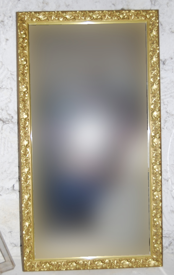 Tú Preguntas! Ideas para sacar partido a un gran espejo dorado ...