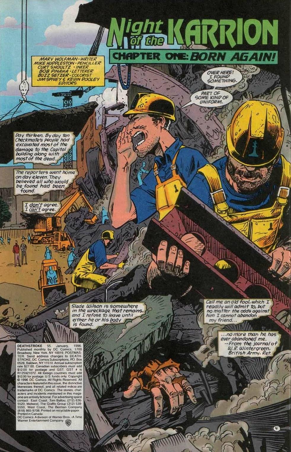 Deathstroke (1991) Issue #55 #60 - English 5
